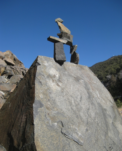 Tim's Sculpture in Cottonwood Canyon